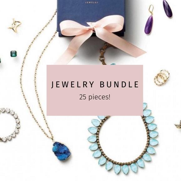 BaubleBar Jewelry - Mystery Jewelry Bundle- large 25 piece lot